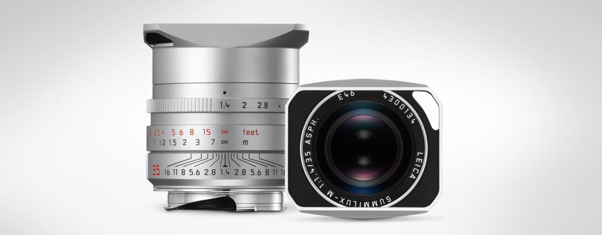 Leica Summilux-M 1:1,4/35mm ASPH. Silver