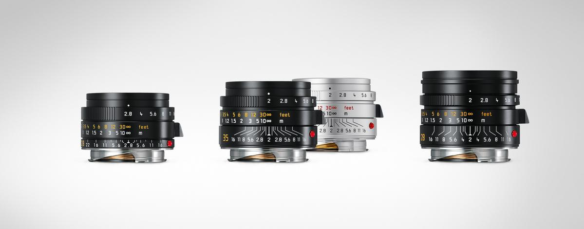 Three classic M lenses in a new generation