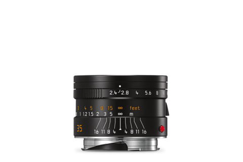 Leica Summarit-M 35 mm f/2.4 ASPH black front