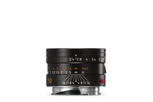 Leica Summarit-M 50 mm f/2.4 black front