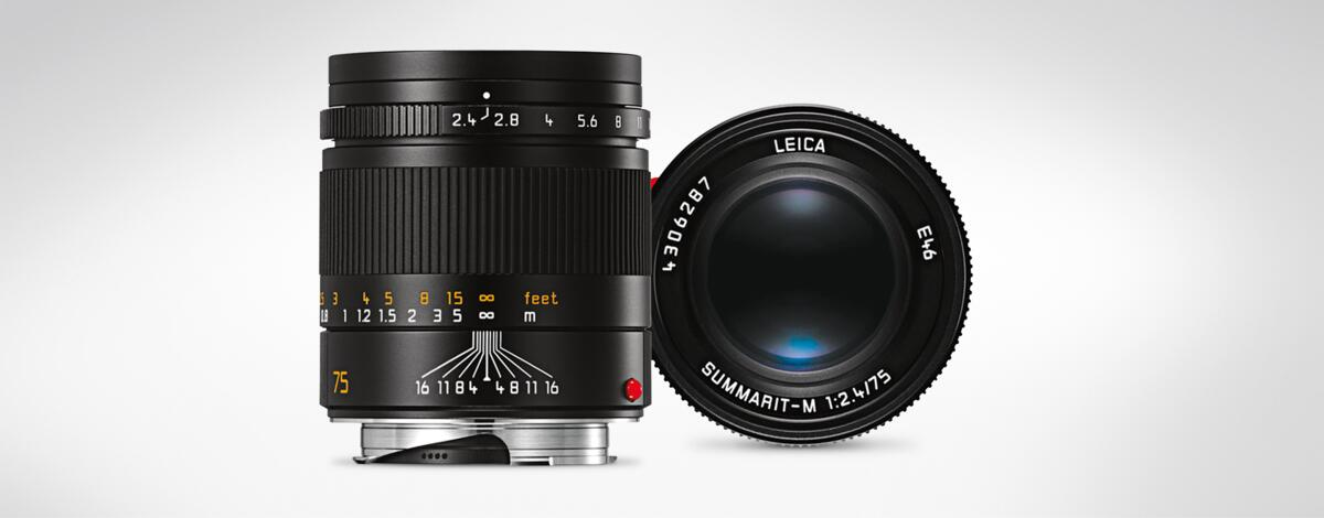 Leica Summarit-M 1:2,4/75 mm