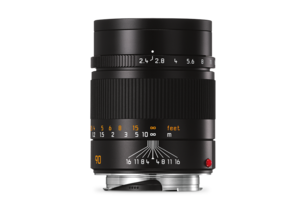 Leica Summarit-M 90 mm f/2.4 black front