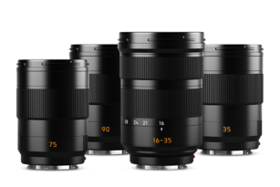 NEW: Three prime lenses and a zoom