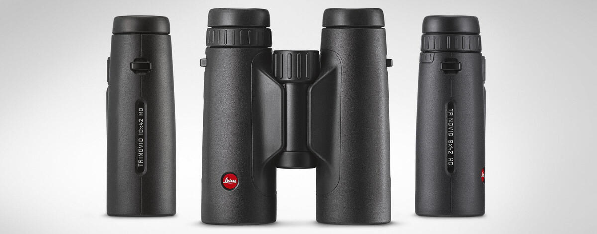 Leica Trinovid 8x42 HD and 10x42 HD