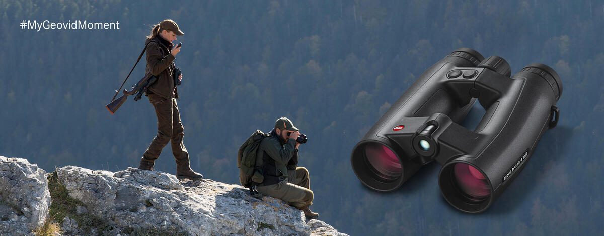 Leica presents the Geovid HD-B 3000 and the Geovid HD-R 2700