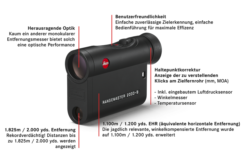 Leica Entfernungsmesser Crf : Leica rangemaster crf 2700 b entfernungsmesser