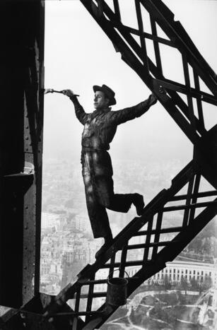 Le Peintre de la Tour Eiffel Marc Riboud