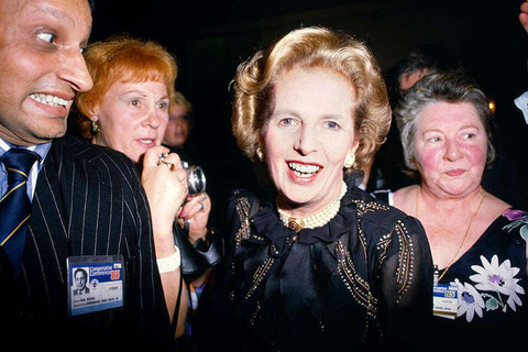 Prime-Minister-Margaret-Thatcher-and-admirers-at-Conservative-Party-Conference-960-x-640