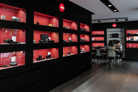 Leica Store Madrid - Interior