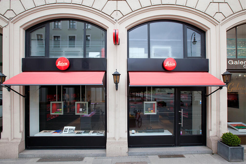 Leica Store Munich Outside