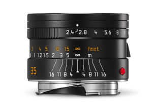 SUMMARIT-M 35 mm/f2.4 ASPH black anodized finish