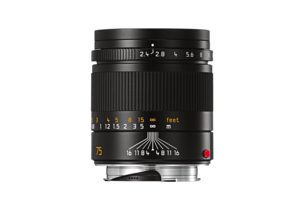 SUMMARIT-M 75 mm/f2.4 black anodized finish