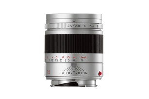 SUMMARIT-M 75 mm/f2.4 silver anodized finish