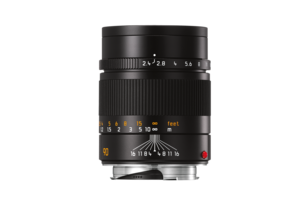 SUMMARIT-M 90 mm/f2.4 black anodized finish