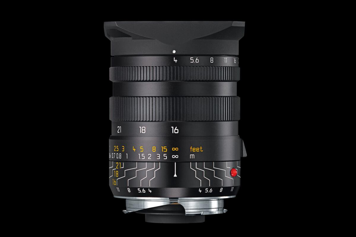 the super wideangle lens with three focal lengths